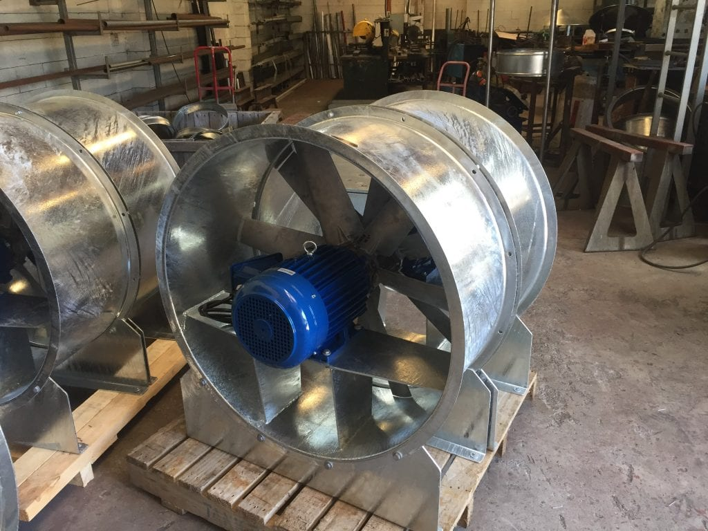 Axial Fans For All Industries Made In New Zealand