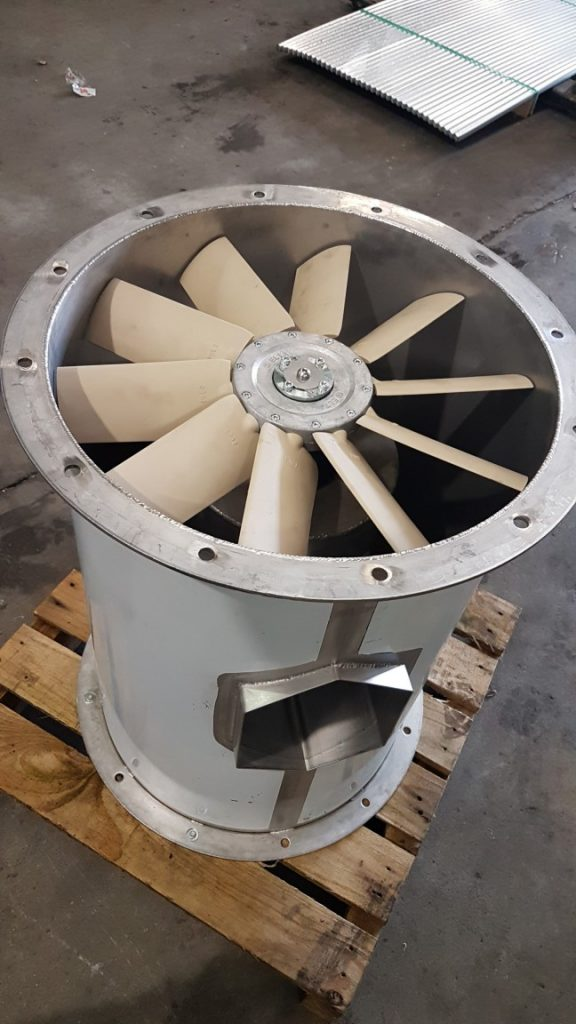 Paint Booth Axial Exhaust Fans : Axial fans for all industries made in new zealand
