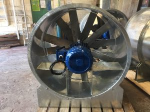 DUSTEX designs, manufactures and repairs industrial axial fans of all types.