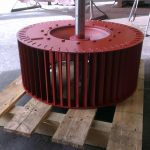 Forward curve impeller