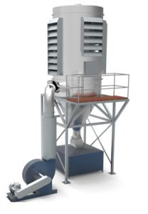 Filterclone timber dust extractor provides a complete dust extraction solution for the timber processing industry.