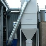 SGS' nuisance dust is removed with a DUSTEX dust collection system