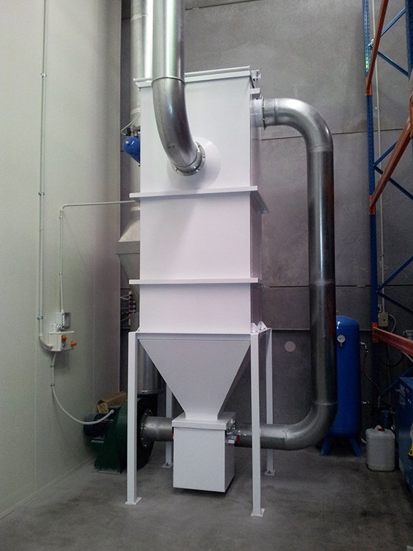 DUSTEX designed and manufactured a food-grade dust collector, hoods and ducting for Sherratt Ingredients.