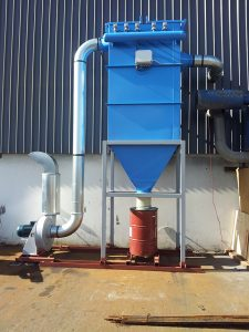 A new metal dust collector system