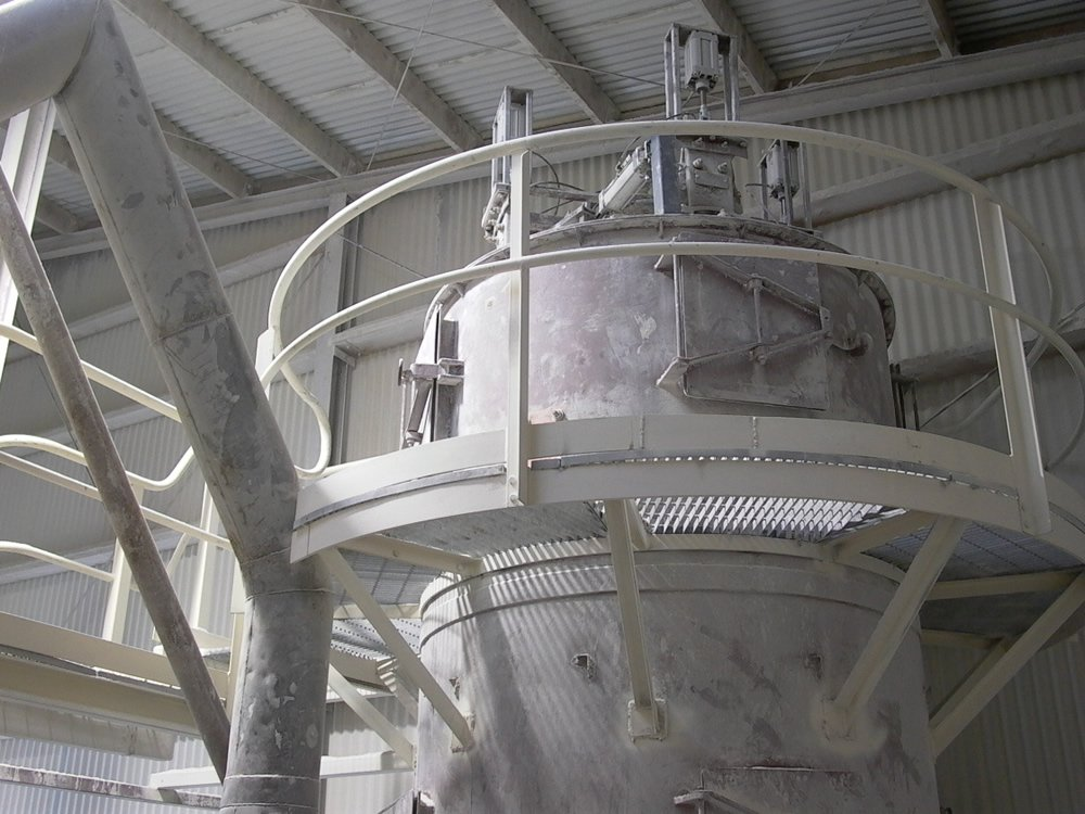 Pulse Jet Dust Collector Retrofit Taylor S Lime