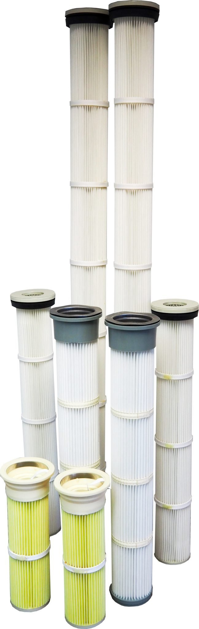 DUSTEX stocks a range of pleated filter cartridges for industrial dust collectors, available for despatch throughout New Zealand.