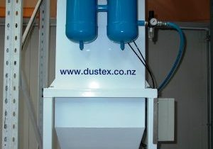 Working conditions in The Cosmetic Company's blending room were very dusty until DUSTEX designed, manufactured and installed a dust extraction system that captured airborne dust at the source of its generation.