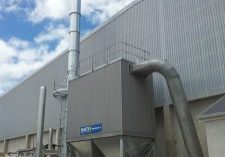 A high capacity, hot dip galvanising plant needed a fume extraction system that met strict emission controls.